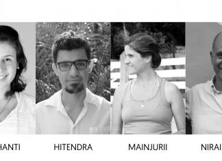 Foto dos membros do Dharma For All